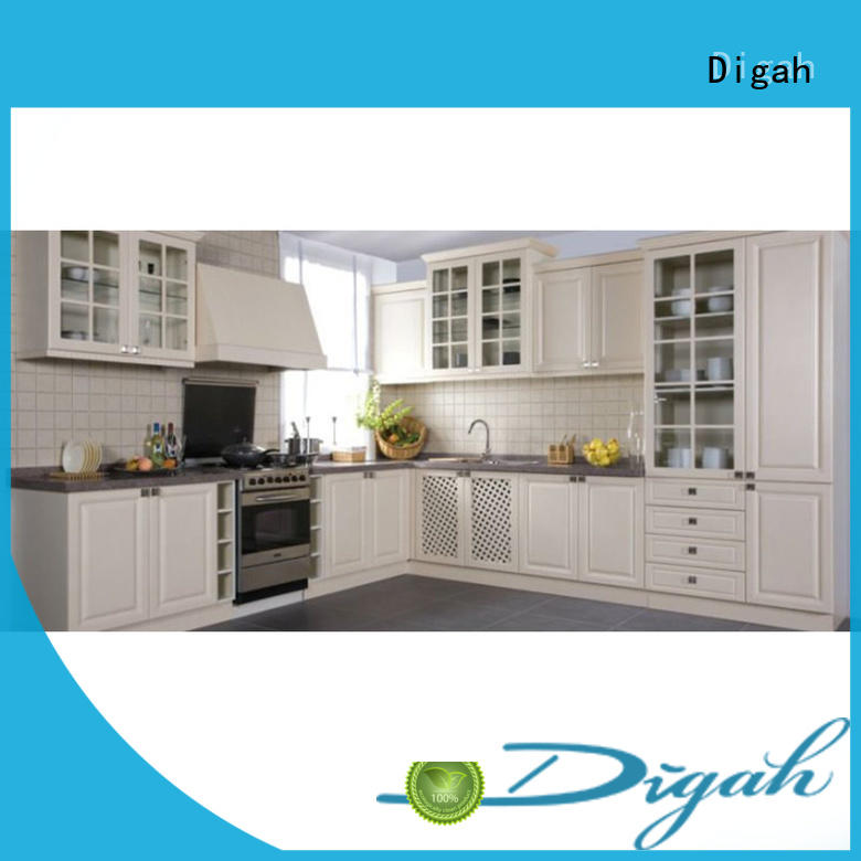 Popular Design Colorful Custom PVC Kitchen Cabinets
