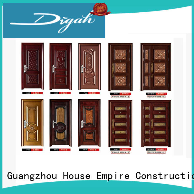 high-end metal entry doors factory price for conference rooms