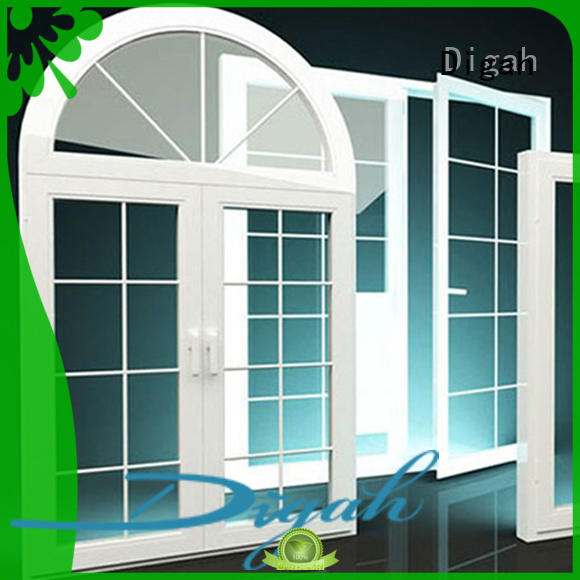 aluminium sash windows Sliding Tempered aluminium window Digah Brand