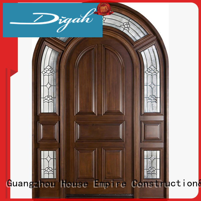 Digah high-quality solid wood doors at sale for balcony