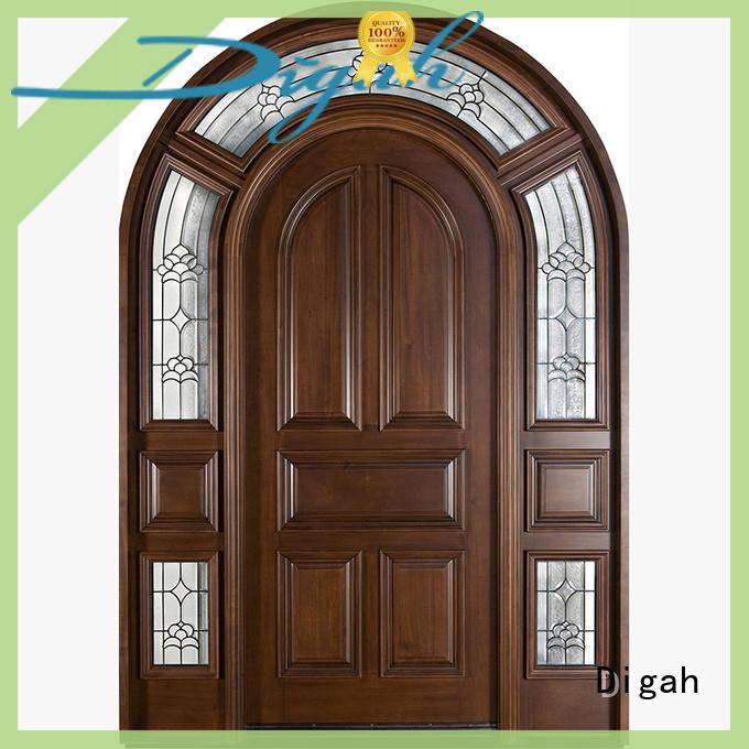 Digah laminate solid wood interior doors in china for bathroom