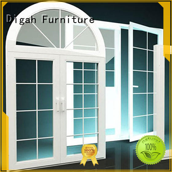 aluminium sash windows Sliding Double-glanzed Digah Brand