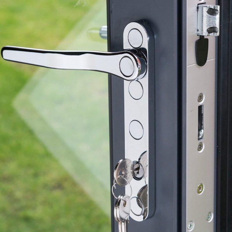 Digah -Custom Colorful Aluminium Frame Folding Patio Doors | Aluminium Door-22