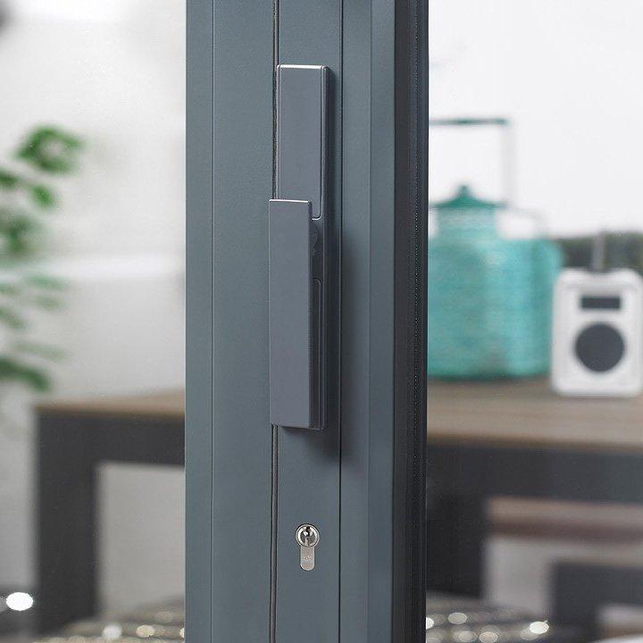 Digah -Custom Colorful Aluminium Frame Folding Patio Doors | Aluminium Door-25