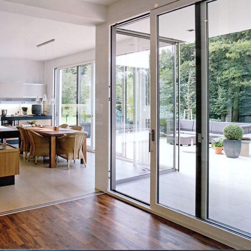 Popular Commercial Design Aluminium Frame Sliding Doors