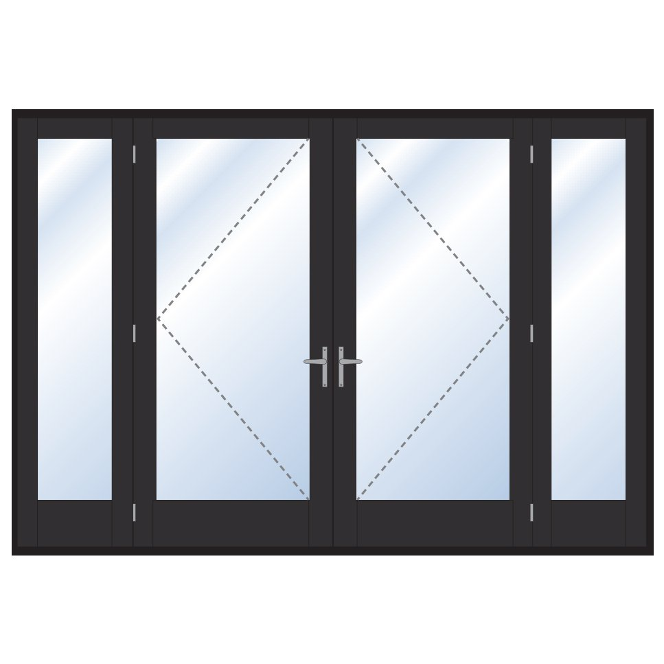 Digah -Professional Custom Aluminium Frame Swinging Grill Doors Supplier-21