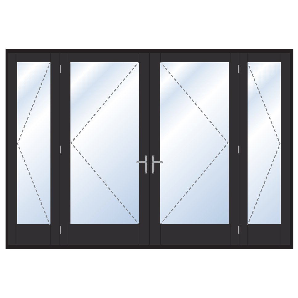 Digah -Professional Custom Aluminium Frame Swinging Grill Doors Supplier-22