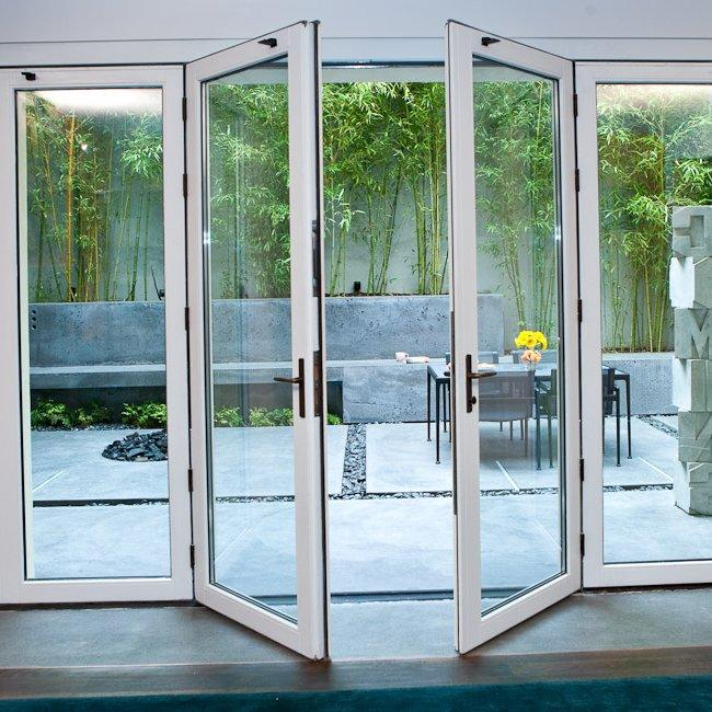 Custom Aluminium Frame French Swing Doors