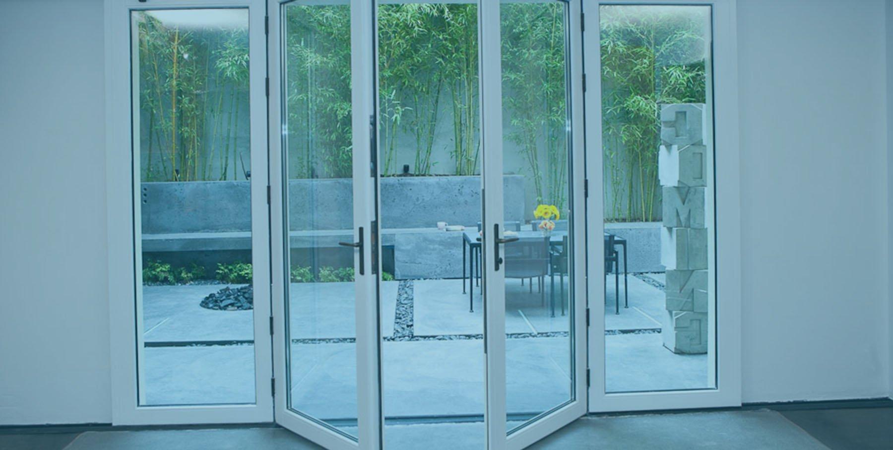 Digah -Find Custom Aluminium Frame French Swing Doors | Manufacture-1