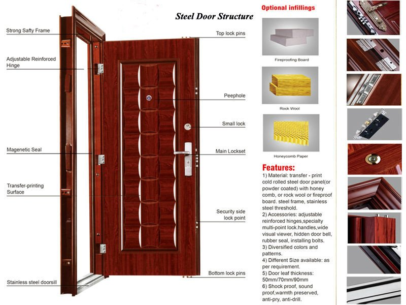 Digah -High-quality Safety Design Steel Armored Door Factory