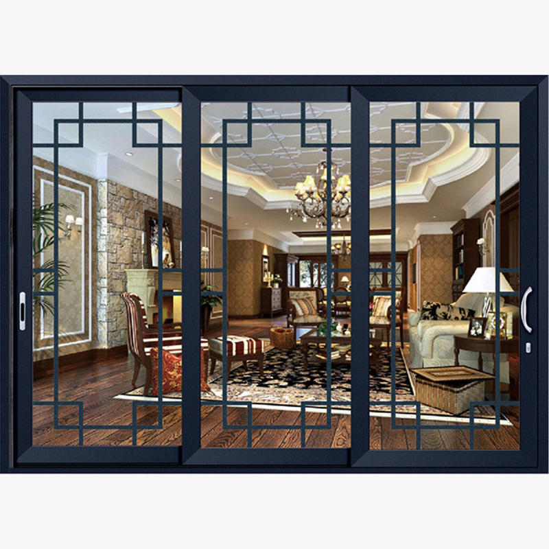 Customized Aluminium Frame Sliding Doors