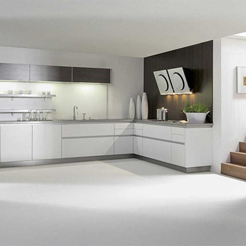 Customized Different Designs of Acrylic Kitchen Cabinets