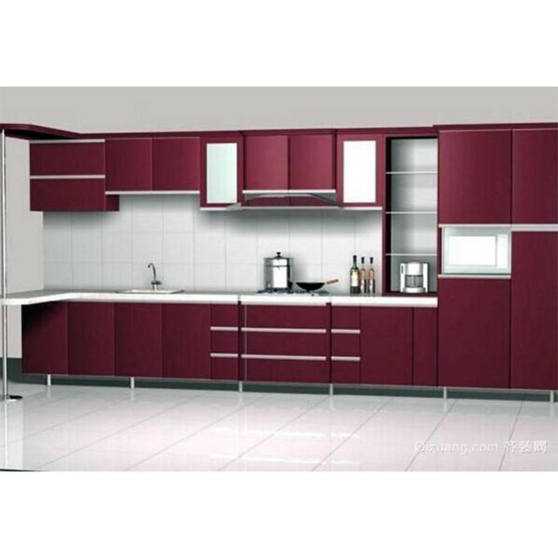 Customized Colorful Aluminium Kitchen Cabinets
