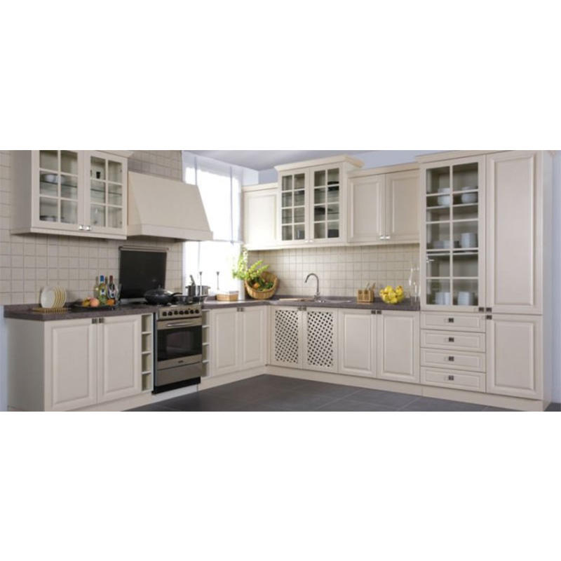 Popular Design Colorful Custom PVC Kitchen Cabinets