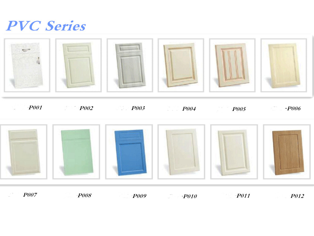 Digah -Popular Design Colorful Custom Pvc Kitchen Cabinets   Digah-1