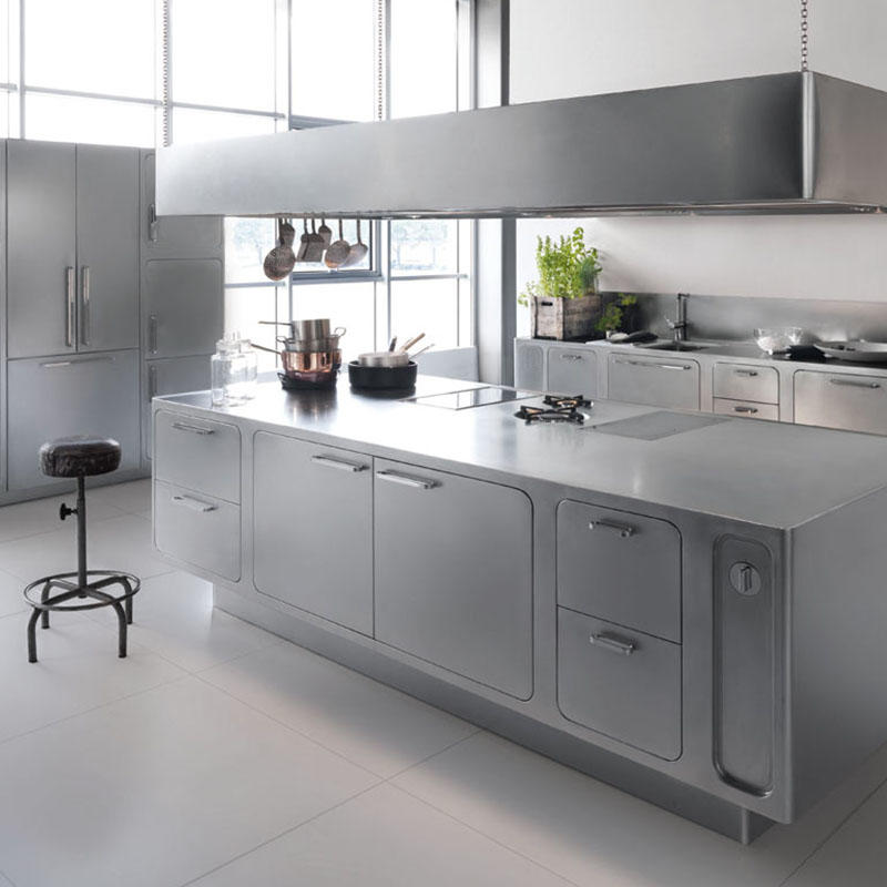 Modern Design Stainless Steel Kitchen Cabinets