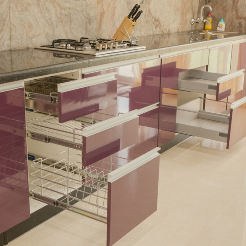 Digah -Best Modern Design Stainless Steel Kitchen Cabinets Manufacture-3