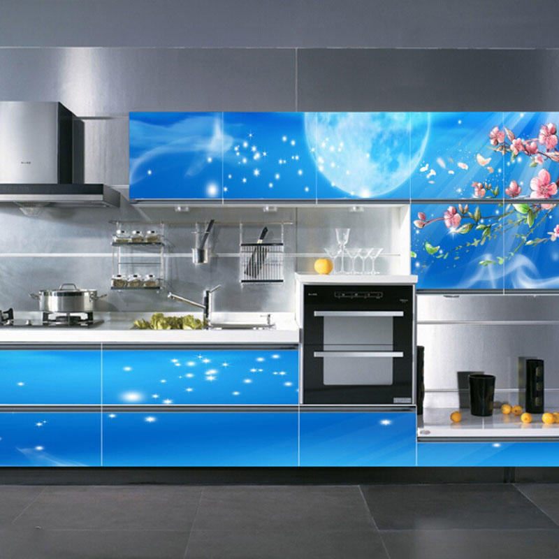 Newest Design Custom 3D Kitchen Cabinets