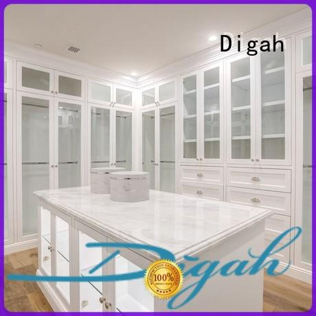 Digah Brand Storage Clothes wooden wardrobe Different color choices factory