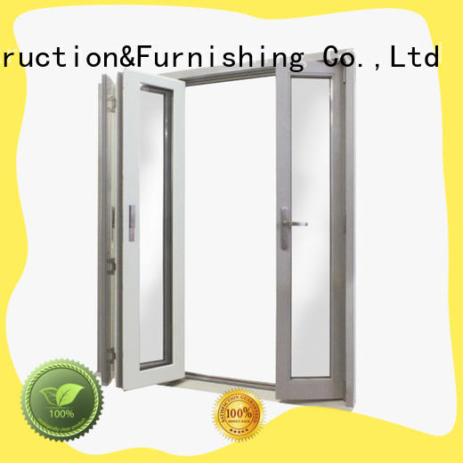 windproof aluminium patio doors frame series for living room