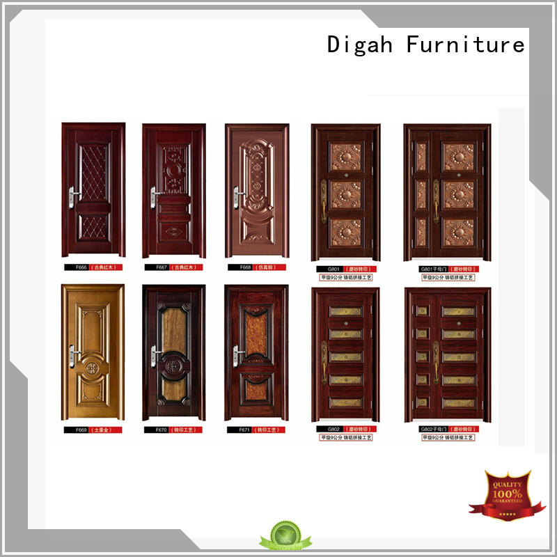steel doors for sale pvc finished safety Industrial Digah Brand company