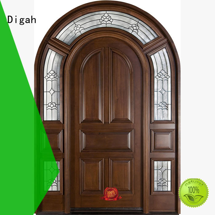 solid wood external doors veneer pvc Bulk Buy exterior Digah