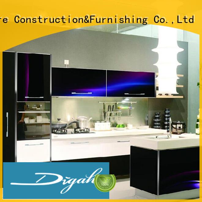 Newest Design Custom 3D Kitchen Cabinets
