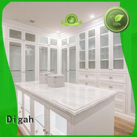 Digah Brand Different color choices different wardrobe closet with shelves Assemble Easily
