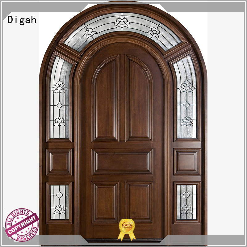 Wholesale solid laminate solid wood doors Digah Brand