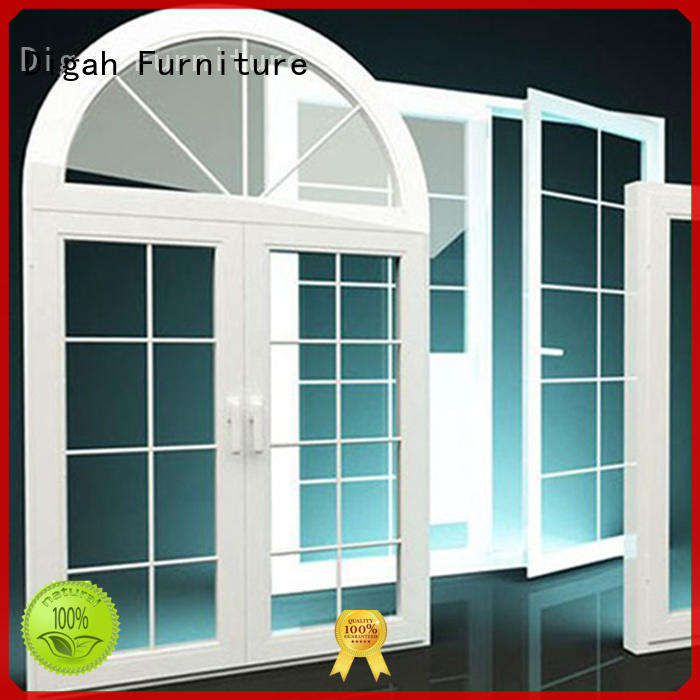 Horizontal aluminium window Double-glanzed Tempered Digah company