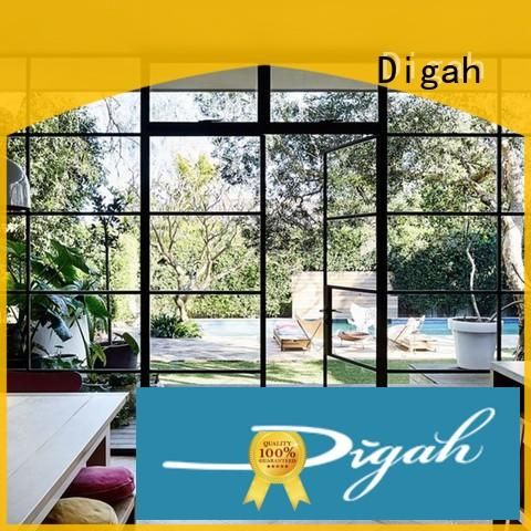 bifold aluminium french doors factory price for conference rooms Digah