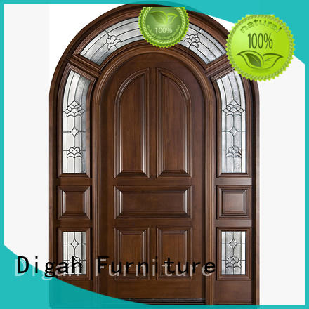Digah stable performance wood entry doors design for living room