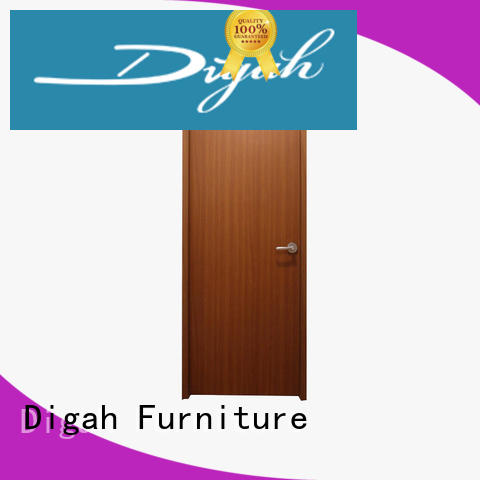 composite front directly Digah Brand solid wood doors supplier