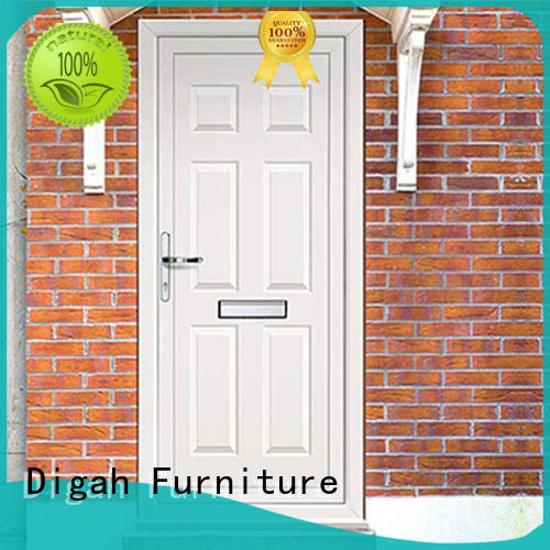 Digah long service life wood entry doors shop now for bathroom