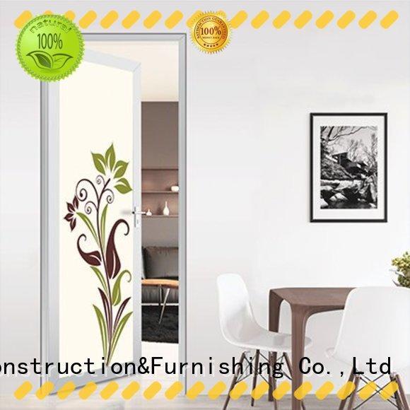 Customized Aluminium Frame French Swinging Doors