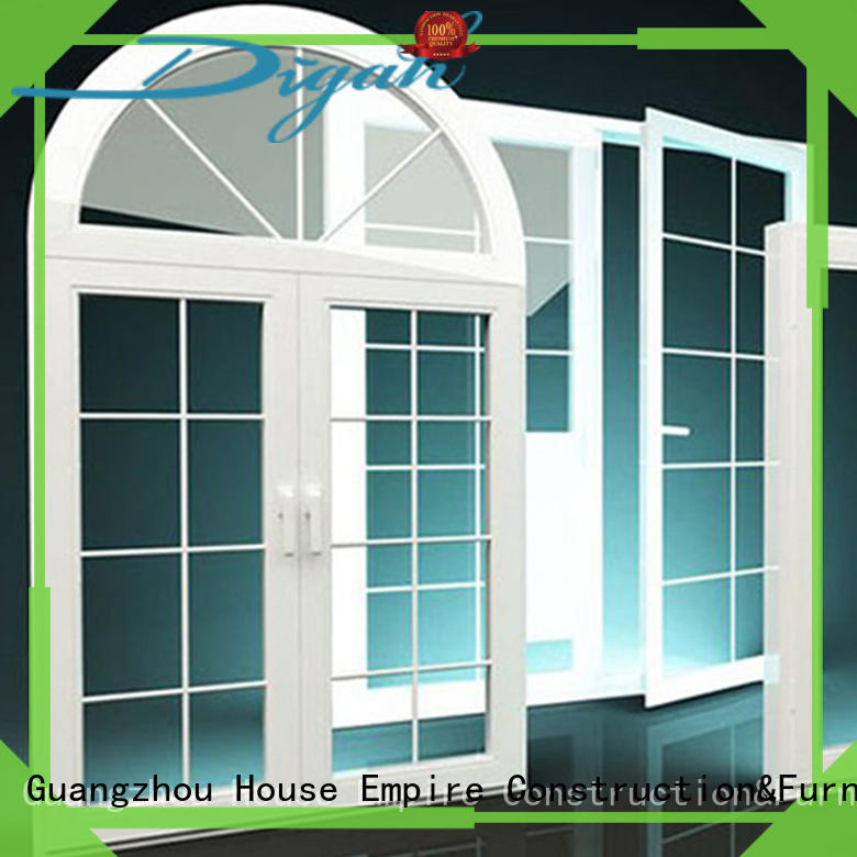 different aluminium window in different color for hotels Digah
