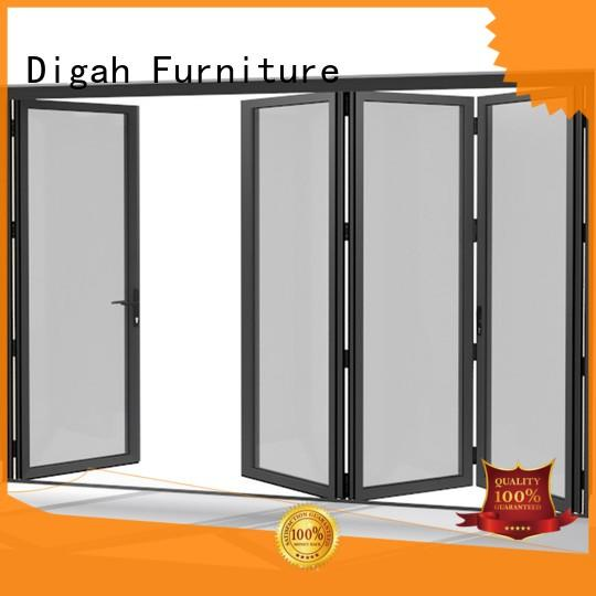 Aluminium Frame Tempered Glass Sliding Folding Patio Doors