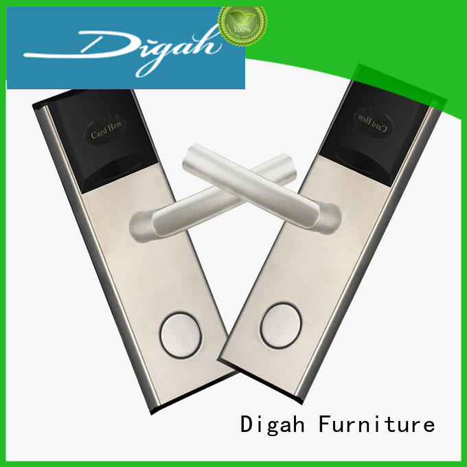 hotel mortise system Digah Brand mechanical door lock manufacture