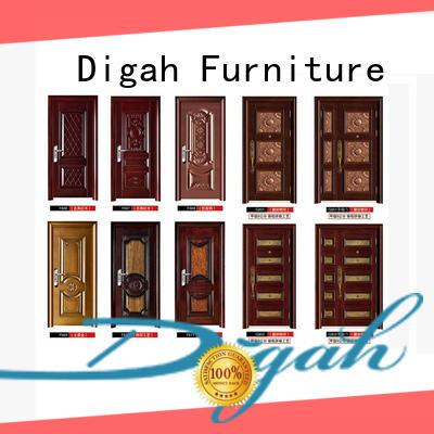 Digah high-quality steel door certification for bathroom