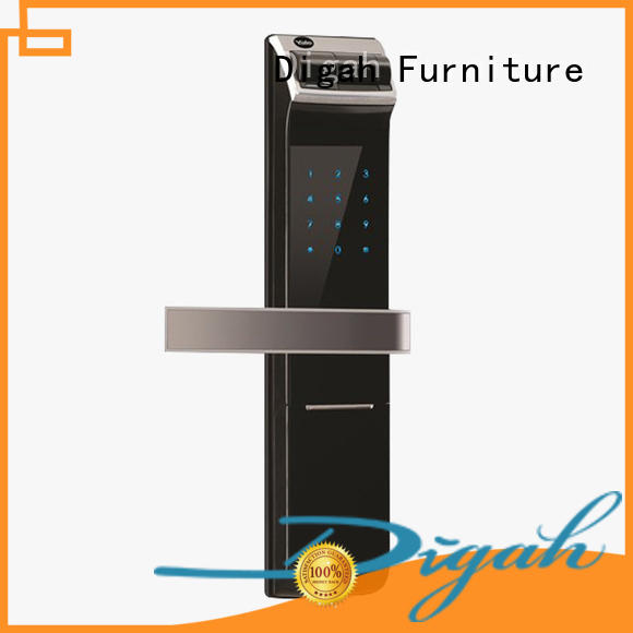 Digah high-quality electronic interior door lock alloy for home decoration