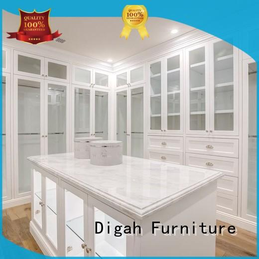 Digah Brand Storage Clothes walk wooden wardrobe manufacture