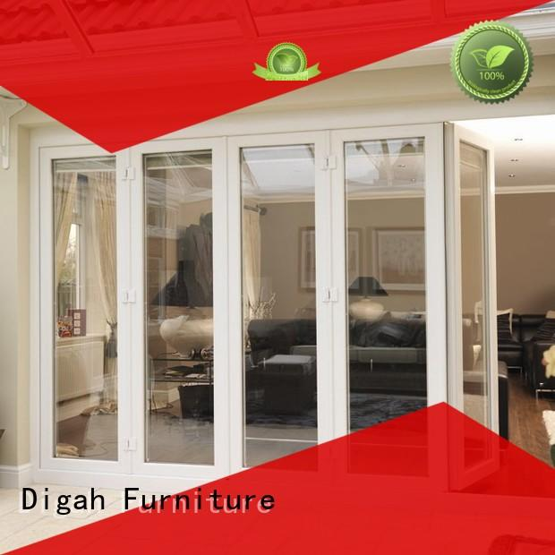Digah swinging aluminium front doors factory price for conference rooms