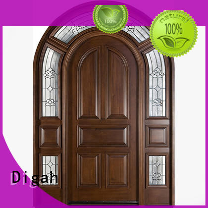 Wholesale pvc solid wood doors Digah Brand