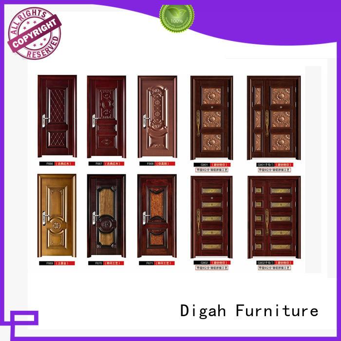 Industrial steel door pvc finished Digah company