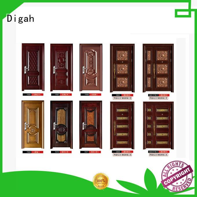 Digah design metal door vendor for dining room