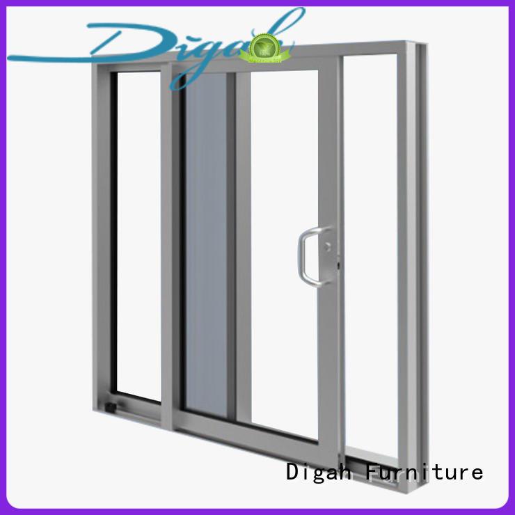 Popular Commercial Design Aluminium Frame Sliding Doors