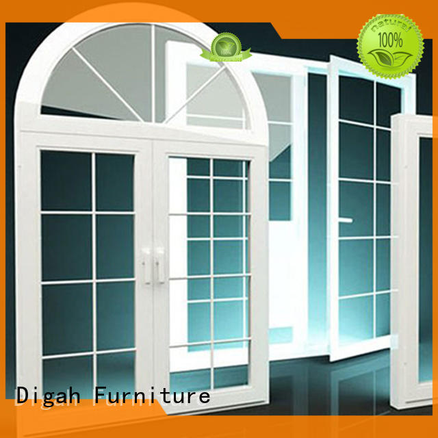 Digah Brand customized Double-glanzed aluminium window Tempered factory
