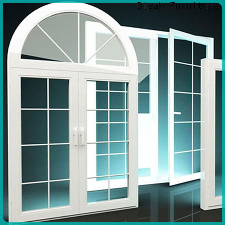Digah windows aluminum casement windows certification for residential