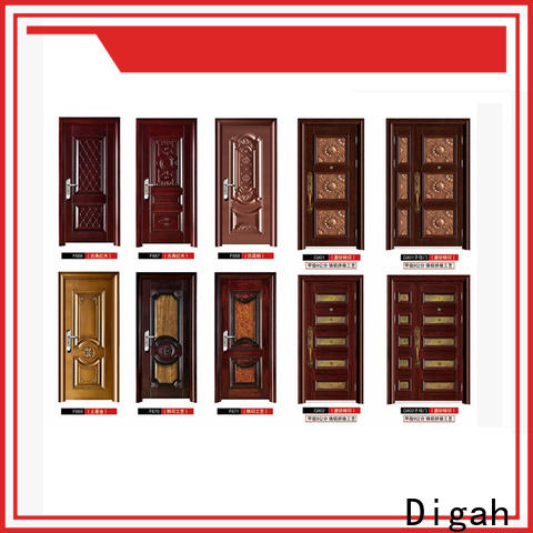 Digah durable metal door factory price for dining room