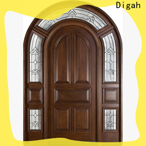 Digah high-quality hardwood doors in china for balcony
